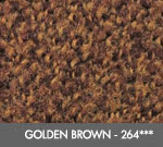 Andersen [125] ColorStar™ Solution Dyed Indoor Wiper/Finishing Floor Mat - Nylon Face - Rubber Backing - Golden Brown - 264***