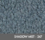 Andersen [125] ColorStar Solution Dyed Indoor Wiper/Finishing Floor Mat - Nylon Face - Rubber Backing - Shadow Mist - 247