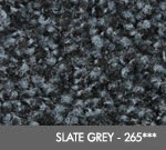 Andersen [125] ColorStar™ Solution Dyed Indoor Wiper/Finishing Floor Mat - Nylon Face - Rubber Backing - Slate Grey - 265***