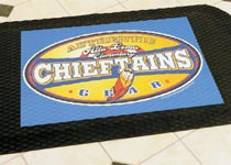 Custom Logo Anti-Fatigue Floor Mats & Customized Cushion Matting - Custom Logo Matting, Carpeting & Message Mats