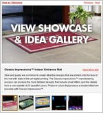 Custom Logo Mats & Entrance Mats Showcase Gallery