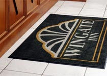 Indoor Custom Logo Mats, Entrance Mats & Scraper/Wiper Mats - Custom Logo Matting, Carpeting & Message Mats