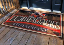 Indoor/Outdoor Custom Logo Mats, Entrance Mats & Scraper Mats - Custom Logo Matting, Carpeting & Message Mats