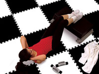 Fitness Activity Linkable Tiles