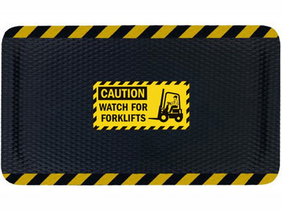 Hog Heaven Watch For Forklifts Sign Mat AM-1