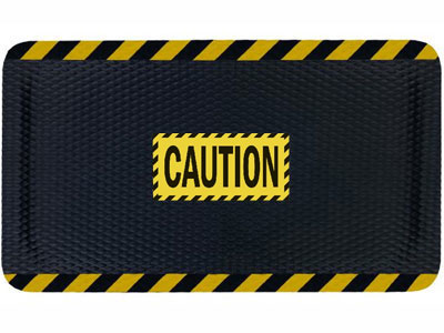Andersen Hog Heaven Caution Sign Mat