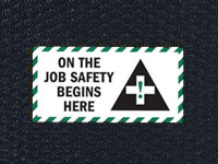 Andersen Hog Heaven On the Job Safety Sign Mat