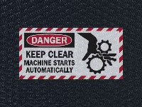 Andersen Hog Heaven Keep Clear Sign Mat