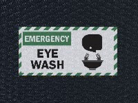 Andersen Hog Heaven Eye Wash Sign Mat
