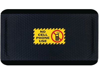 Hog Heaven No Cell Phone Use Sign Mat