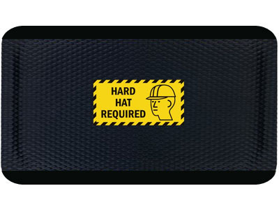 Andersen Hog Heaven Hard Hat Required Sign Mat