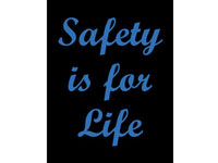 Safety Message Floor Mat - Safety Is For Life