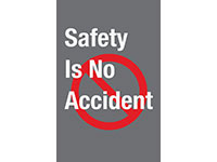 Safety Message Mat - Safety Is No Accident NT-194SNA