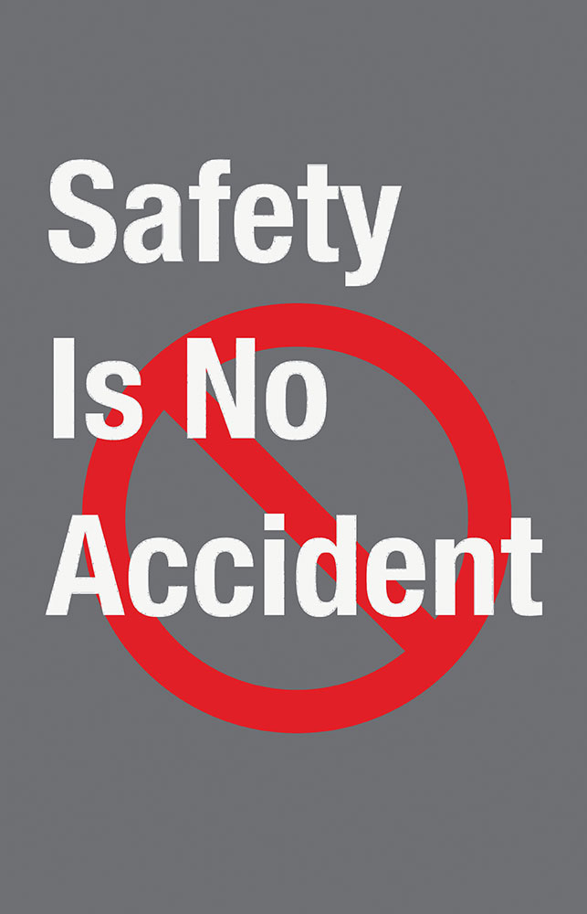 Safety Message Floor Mat - Safety Is No Accident