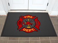 Superscrape Impressions Indoor/Outdoor Logo Mat AM-3559