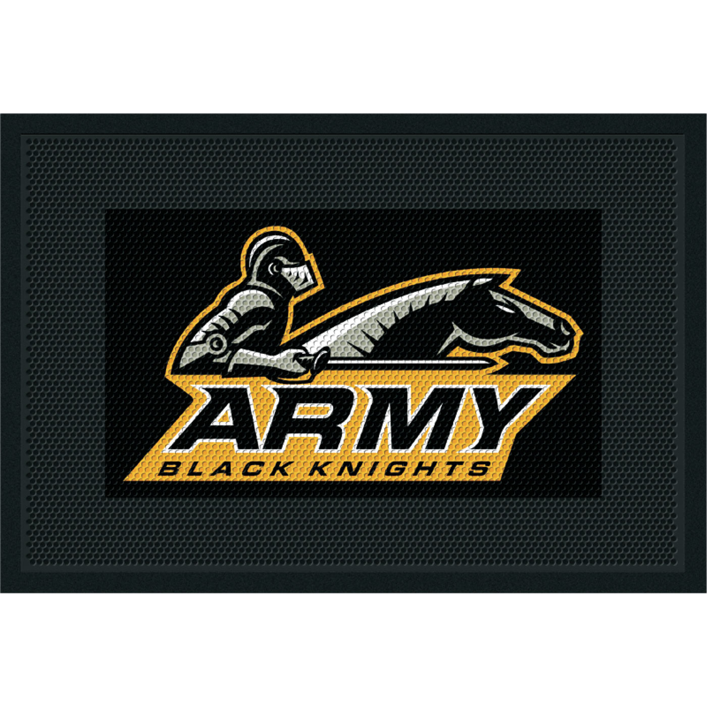 Military Custom Logo Scraper Entrance Mat Clean Step