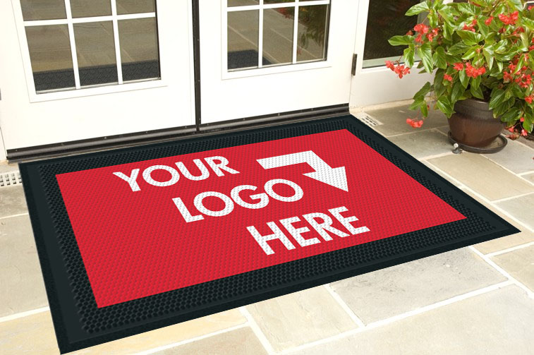 Clean Step Scraper Logo Mat