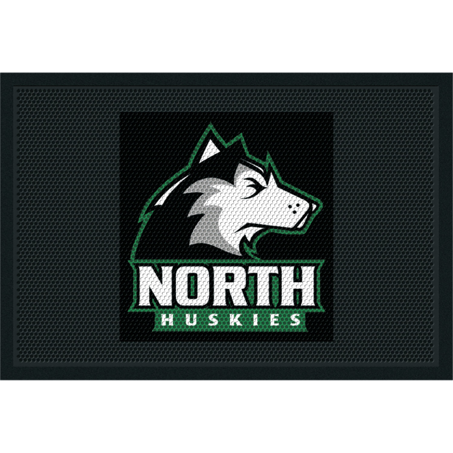 nop floor custom hunter logo enhance high green mats by