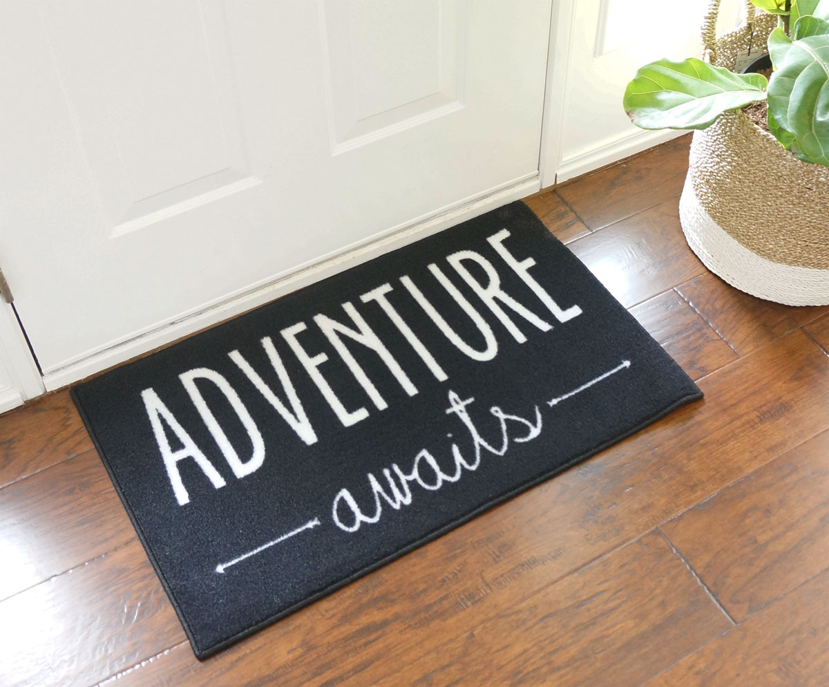 Adventure Awaits Door Mat - 22