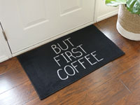 "But First Coffee Door Mat - 22"" x 32"" GM-19001043"