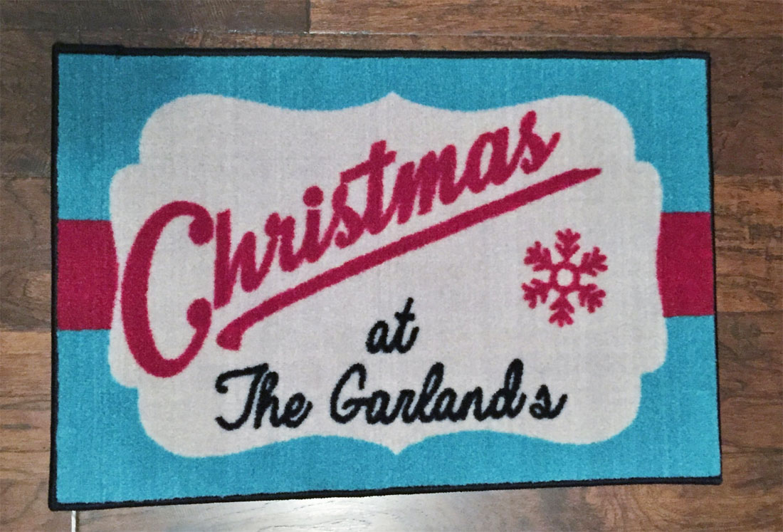 Personalized Christmas Door Mat