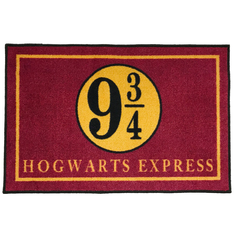 Platform 9 3 4 Hogwarts Express Welcome Doormat 2 X 3