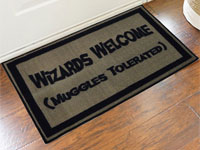 Wizards Welcome Muggles Tolerated Door Mat - 2' x 3' GM-19009070