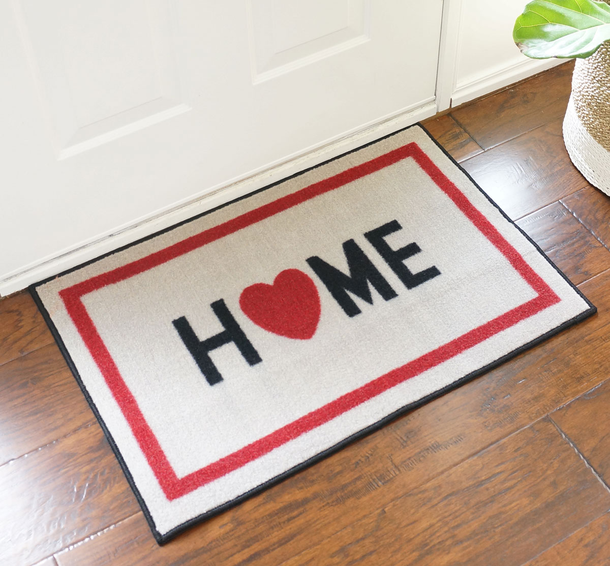"Home w/ Heart Door Mat - 22"" x 32"""