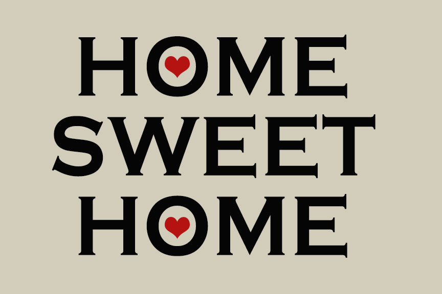 Home sweet home logo for Home by home