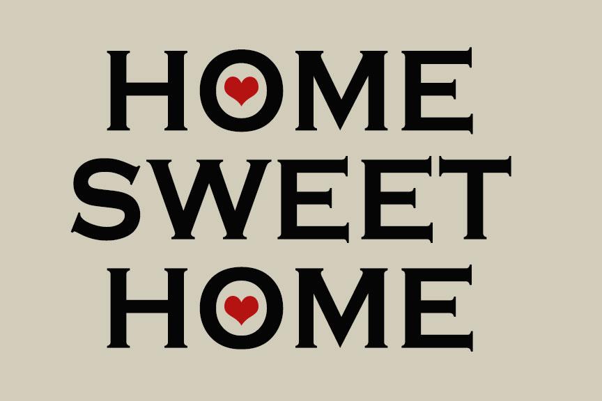 Home Sweet Home Welcome Door Mat Floormatshop Com