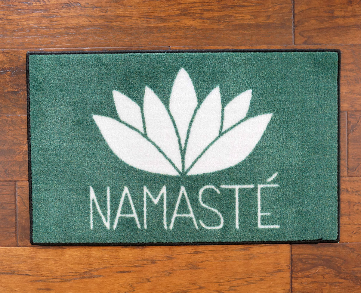 Namaste Door Mat Floormatshop Com Commercial Floor