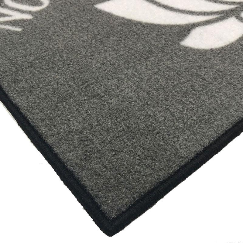 No Mud No Lotus Inspirational Welcome Doormat Floormatshop Com Commercial Floor Matting