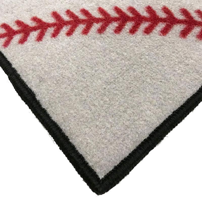 Baseball No Place Like Home Welcome Mat 2 X 3