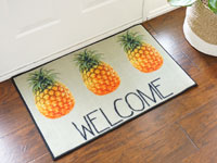 "Welcome Pineapple Door Mat - Photo Realistic - 22"" x 32"" GM-PINEAPPLE"