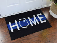 Police Support Welcome Home Door Mat - 2' x 3' GM-19003102