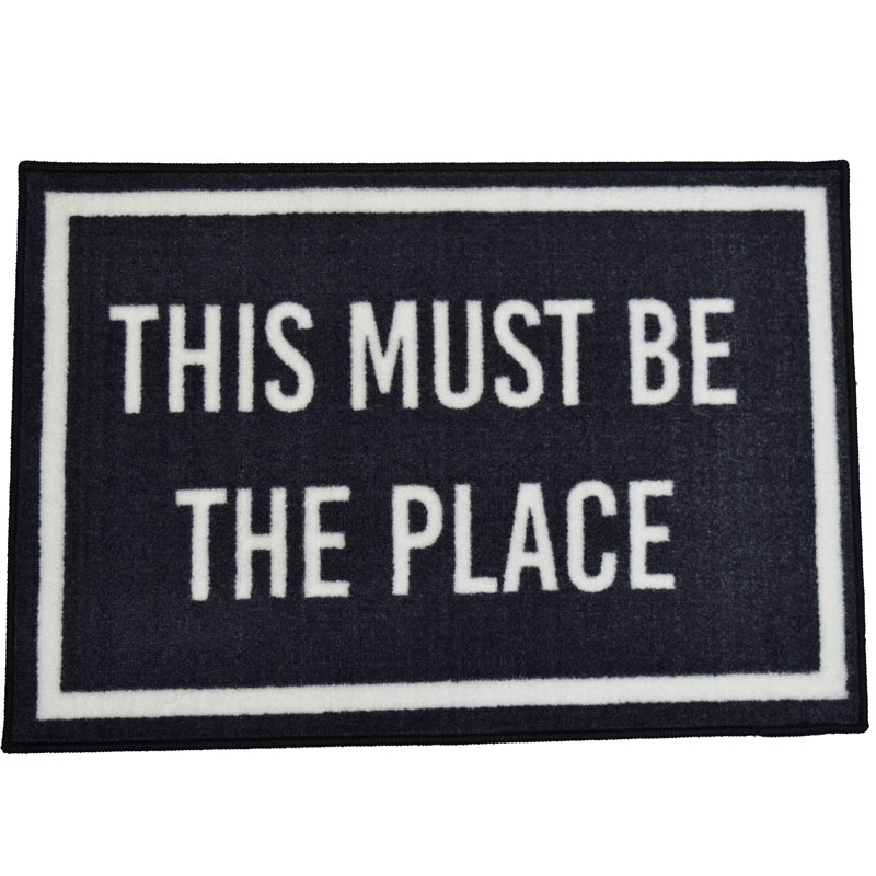 This Must Be The Place Welcome Door Mat - 2' x 3'