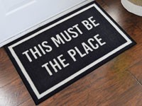 This Must Be The Place Welcome Door Mat - 2' x 3' GM-19009069