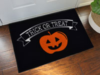 Trick Or Treat Halloween Welcome Mat