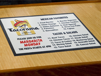 Media Logo Message Promotional Mat GM-MM