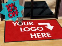 Prestige Impressions Personalized Custom Logo Entrance Mat GM-PLM