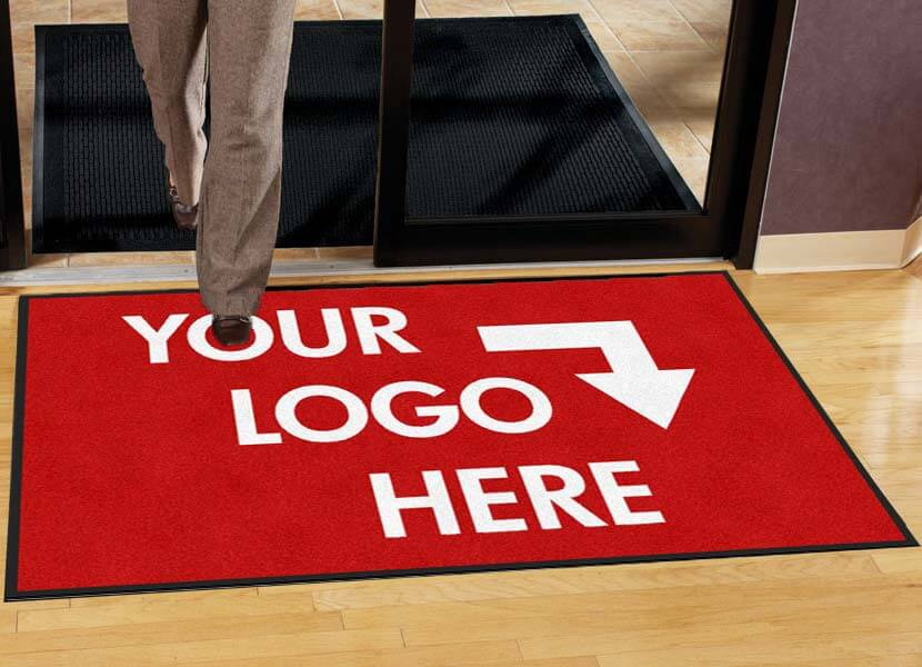 Prestige Impressions Personalized Custom Logo Entrance Mat