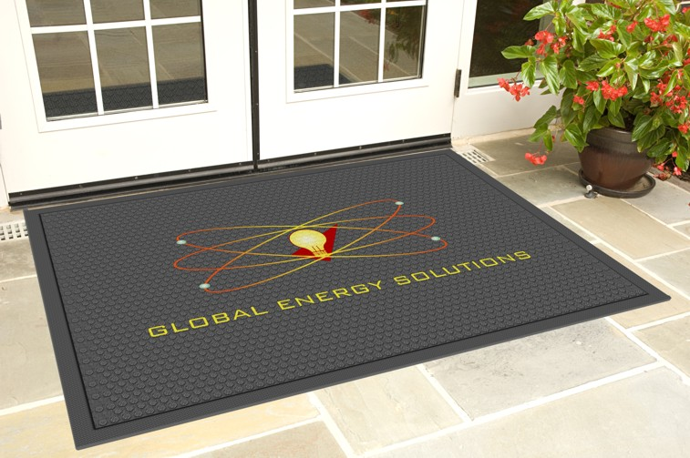 Superscrape Impressions Indoor/Outdoor Logo Mat