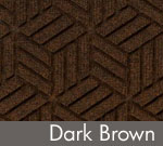 Legacy Geometric Logo Inlay – Dark Brown