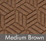 Legacy Geometric Logo Inlay – Medium Brown