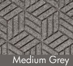 Legacy Geometric Logo Inlay – Medium Grey