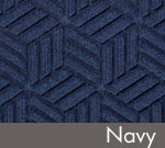 Legacy Geometric Logo Inlay – Navy
