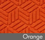 Legacy Geometric Logo Inlay – Orange