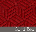 Legacy Geometric Logo Inlay – Solid Red