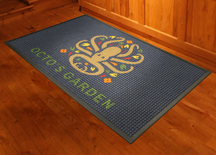 Waterhog Logo Inlay Custom Logo Floor Mat Floormatshop