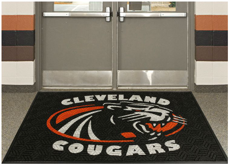 Legacy Geometric Logo Inlay Entrance Mat